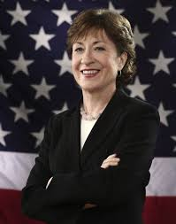 Sen. Susan Collins.  Maine.