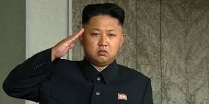 The North Korean dictator Kim Jong-un.