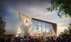 The New Vikings stadium